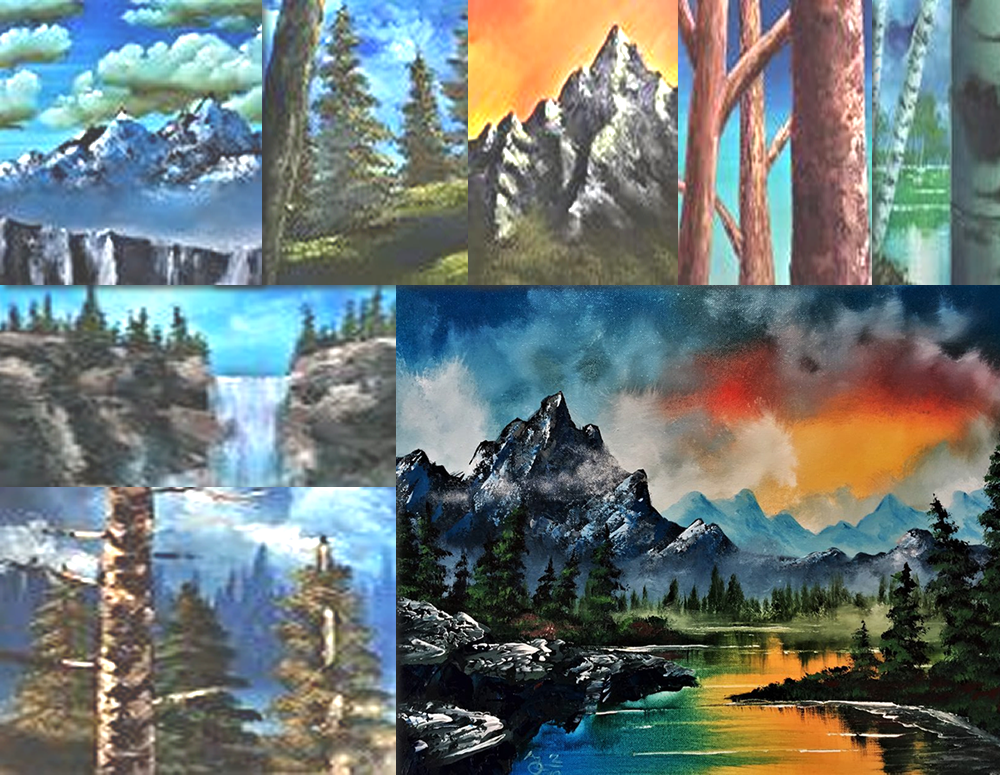 Master Class Acrylic Landscapes – Beginners
