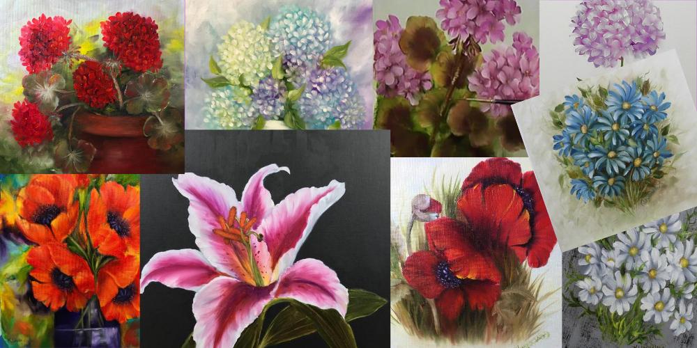 Master Class Floral Oils – Beginners