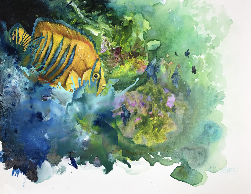 Tropical Fish (Acrylic & Oils)