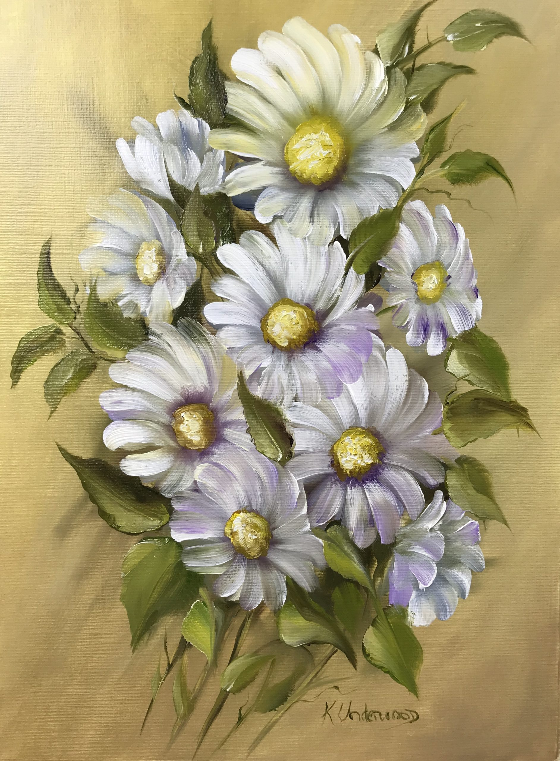 Daisy Bouquet (Oils)