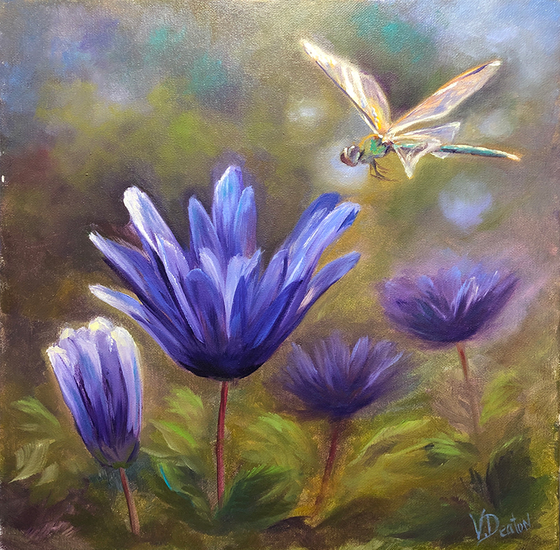 Dragonfly Dreams Oil Painting Tutorial