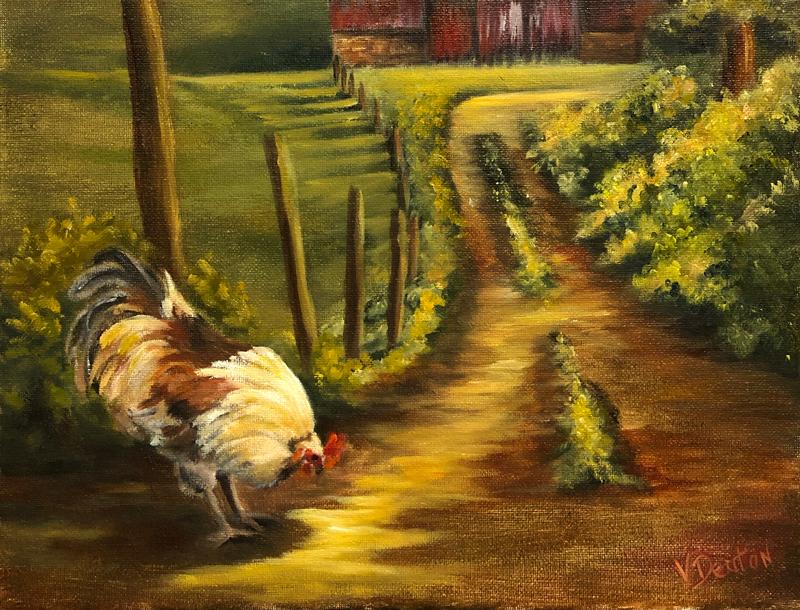Free Range Oil Painting Tutorial