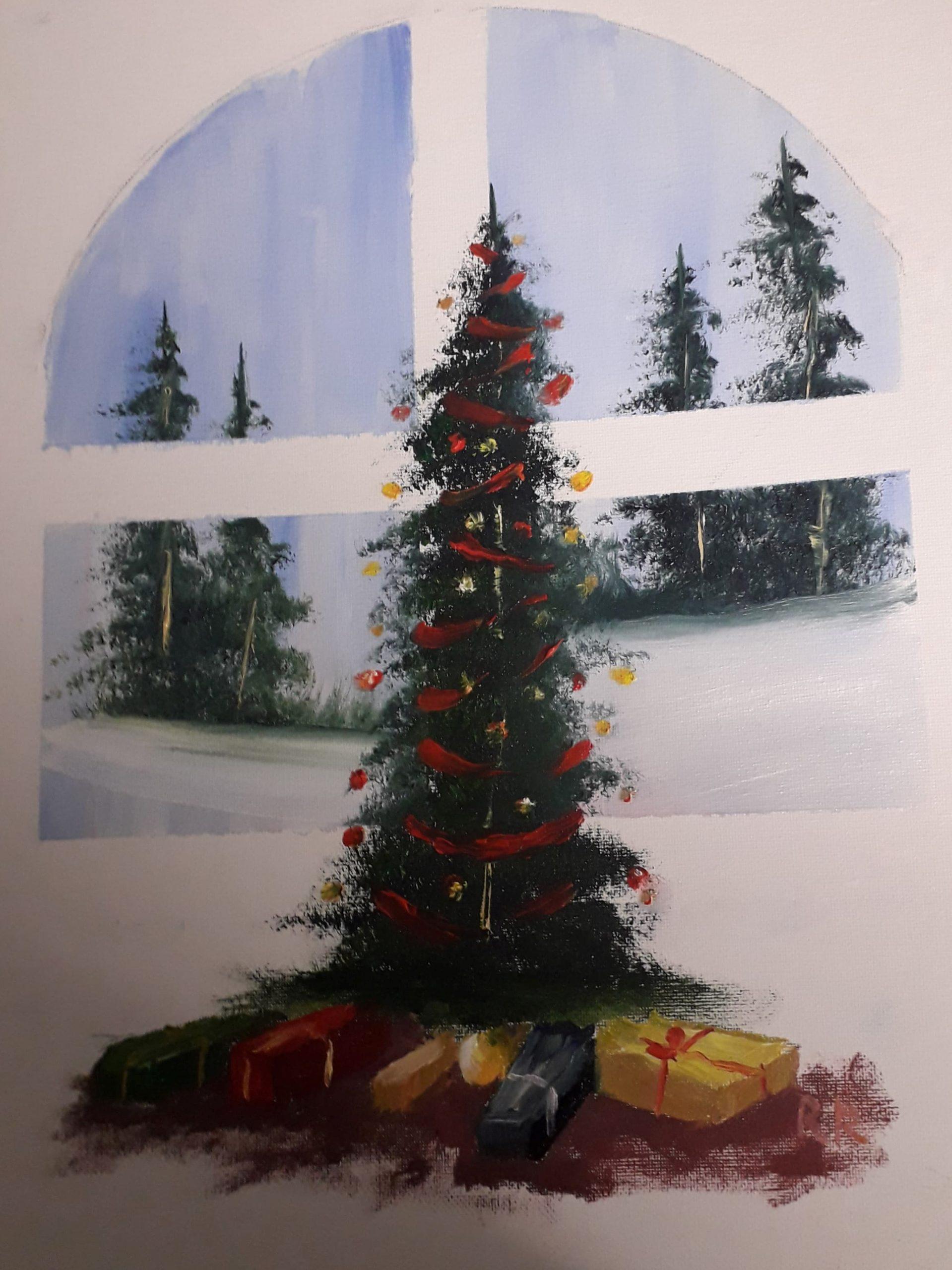 Christmas Eve (Oils)