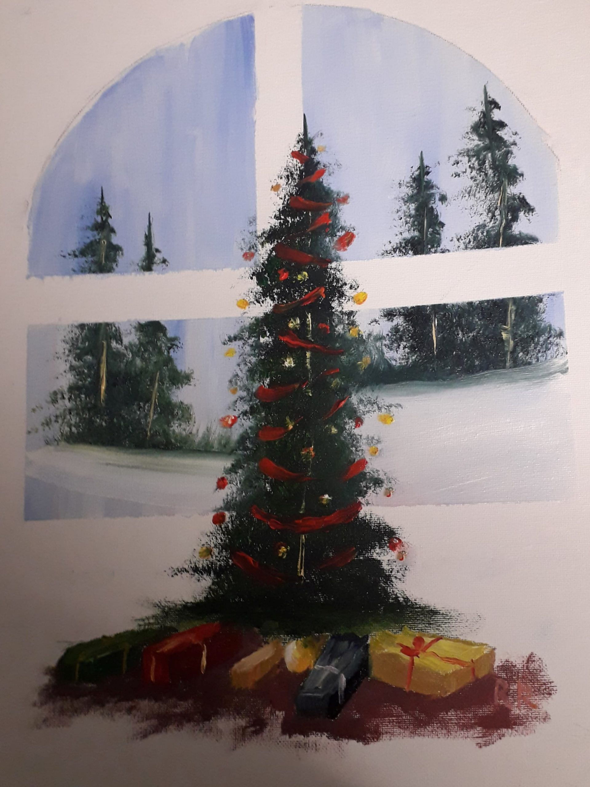 Christmas Eve (Oils)
