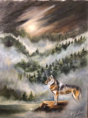 Out of the Mist – Oil Painting Tutorial
