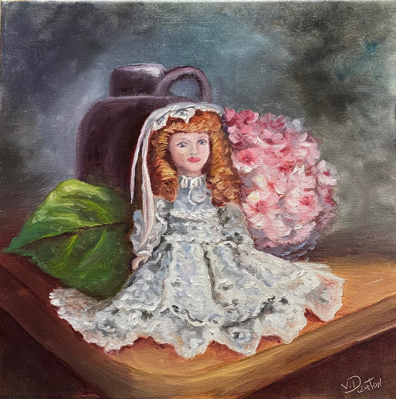 Sitting Pretty Oil Painting Tutorial